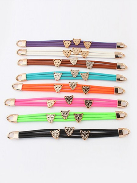 All-match Leopard Bracelets J098207JR